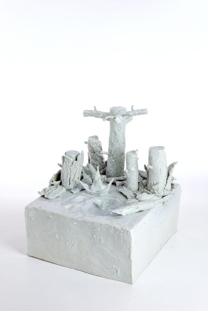 """""""La mia zolla preferita"""" 2011 ceramica cm 40x40x45"""