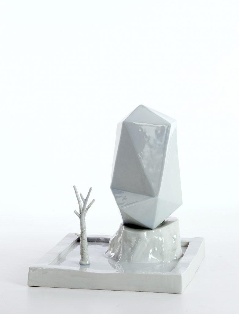 """""""La stessa pozza"""" 2011 ceramica cm30x30x37"""